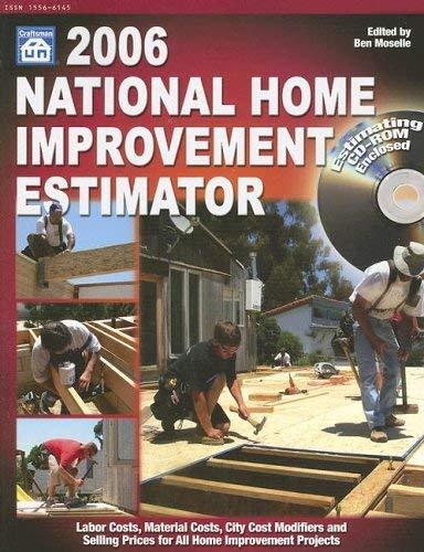 National Home Improvement Estimator [With CDROM] 9781572181618