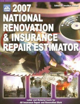 National Renovation & Insurance Repair Estimator [With CDROM] 9781572181816