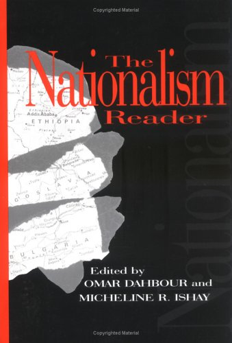 Nationalism Reader 9781573926232