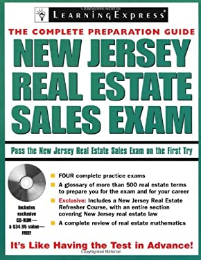 New Jersey Real Estate Sales Exam: The Complete Preparation Guide [With CDROM] 9781576855867