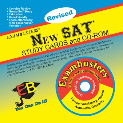 New SAT Study Cards and CD-ROM [With CDROM] 9781576334003