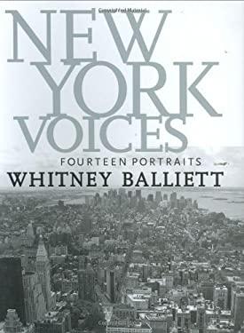 New York Voices: Fourteen Portraits 9781578068364