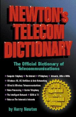 Newton Telecom Dictionary(14e 9781578200238