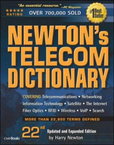 Newton's Telecom Dictionary 9781578203192