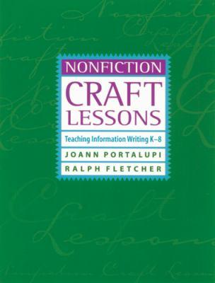 nonfiction craft lessons by joann portalupi ralph