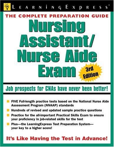 Nursing Assistant/Nurse Aide Exam 9781576855478