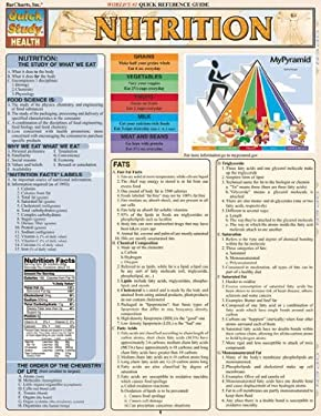 Nutrition Laminate Reference Chart 9781572229532