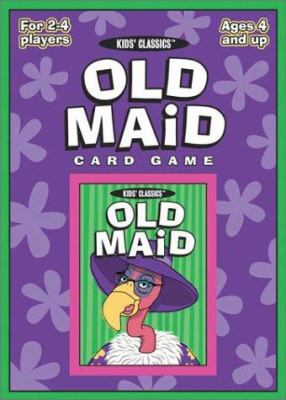 Old Maid Classic Card Game 9781572813090