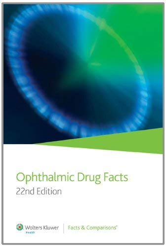 Ophthalmic Drug Facts 9781574393262