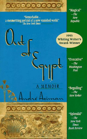 Out of Egypt: A Memoir 9781573225342