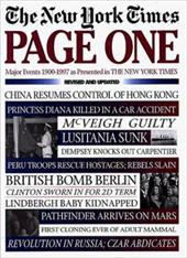Page One: Major Events, 1900-1997, as Presented in the New York Times 7124050