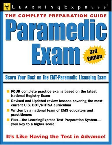 Paramedic Exam 9781576855447