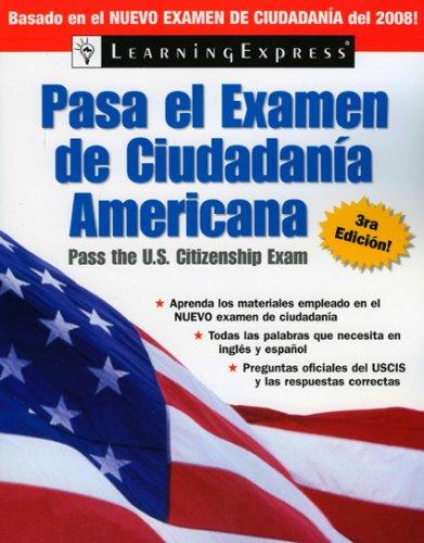 Pasa el Examen de Ciudadania Americana 9781576856185