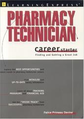 Pharmacy Technician Career Starter 7108870