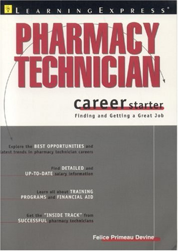 Pharmacy Technician Career Starter 9781576854105