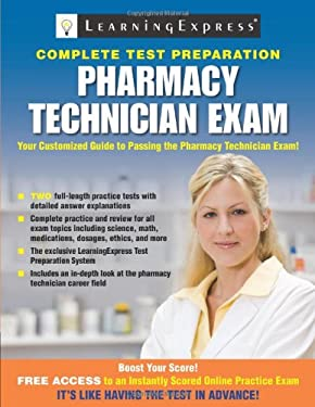 Pharmacy Technician Exam 9781576857373