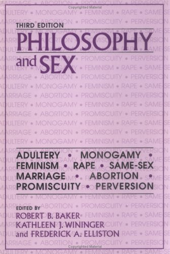 Philosophy and Sex 9781573921848