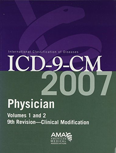 Physician ICD-9-CM Volume 1 and 2: Clinical Modification 9781579478230