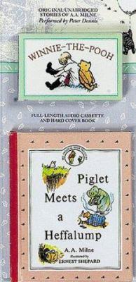 Piglet Meets a Heffalump with Book 9781573750141