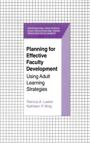 Planning for Effective Faculty Development 9781575241050