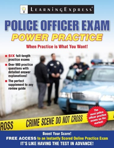 Police Officer Exam: Power Practice 9781576857724