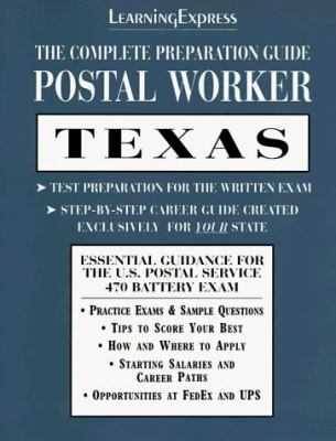 Postal Worker: Texas: The Complete Preparation Guide 9781576850510