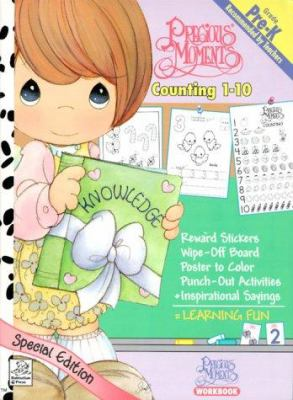 Precious Moments Counting 1-10 [With Stickers] 9781577591160