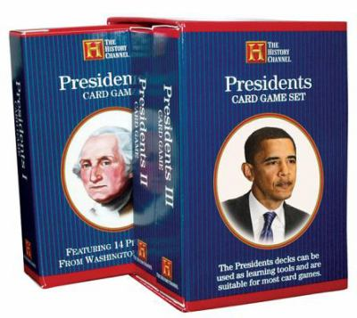 Presidents Card Game Set 9781572814240