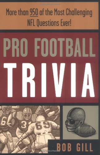 Pro Football Trivia 9781570282324