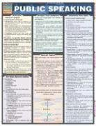 Public Speaking Laminate Reference Chart 9781572226432