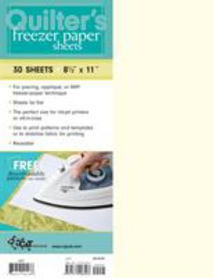 Quilter's Freezer Paper Sheets: 30 Sheets: 8 1/2