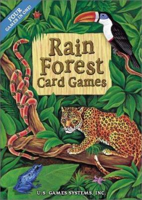 Rain Forest Card Games: 48 Cards: Four Games in One!