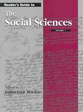 Reader's Guide to the Social Sciences 9781579580919