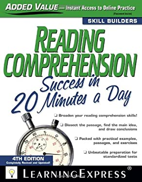 Reading Comprehension Success in 20 Minutes a Day 9781576856765