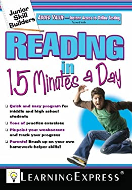 Reading in 15 Minutes a Day [With Free Online Practice Exercises Access Code] 9781576856611