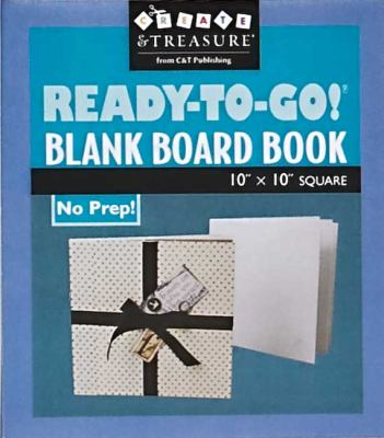 Ready-To-Go! Blank Board Book: 10