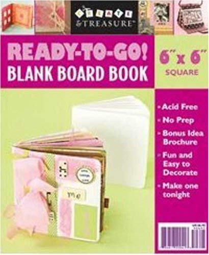 Ready-To-Go Blank Board Book White 6