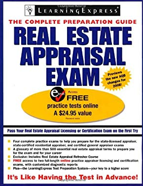 Real Estate Appraisal Exam 9781576855874