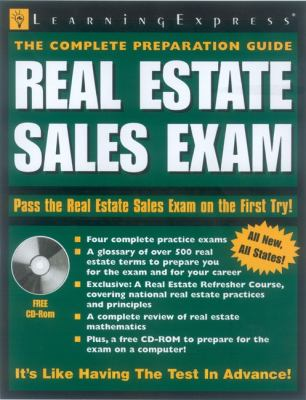 Real Estate Sales Exam 9781576855010