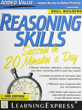 Reasoning Skills Success in 20 Minutes a Day [With Access Code] 9781576857205
