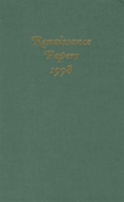 Renaissance Papers 1998 9781571131379