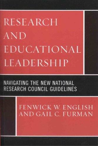 Research and Educational Leadership: Navigating the New National Research Council Guidelines 9781578865512
