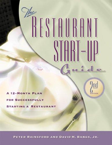 Restaurant Start-Up Guide 9781574101379