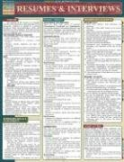 Resumes & Interviews Laminate Reference Chart 9781572225466