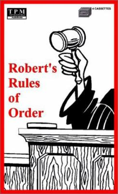 Roberts Rules of Order (Bkpk)