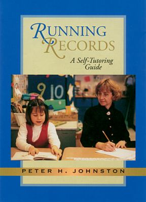Running Records: A Self-Tutoring Guide [With 40 Minute Audio Cassette] 9781571103215