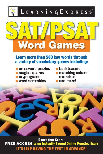 SAT/PSAT Word Games 9781576857946