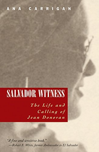 Salvador Witness: The Life and Calling of Jean Donovan 9781570756047
