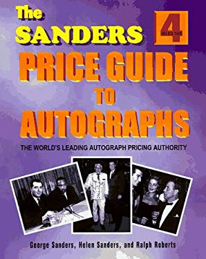Sanders Price Guide to Autographs 9781570900327