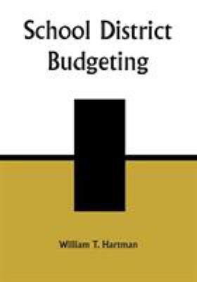 School District Budgeting 9781578860685